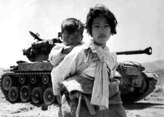 Orphans durig the Korean War