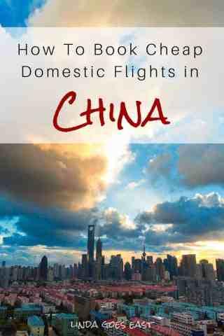 Book cheap domestic flights china