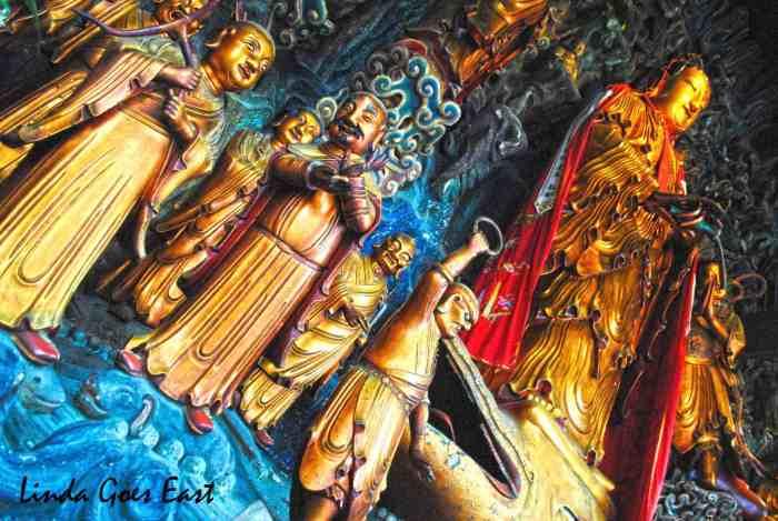 Shanghai Jade Buddha Temple Linda Goes East