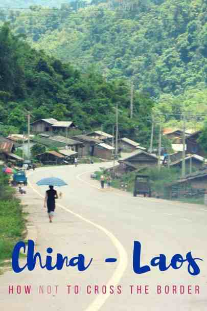 China Laos Border Crossing   Linda Goes Eeast