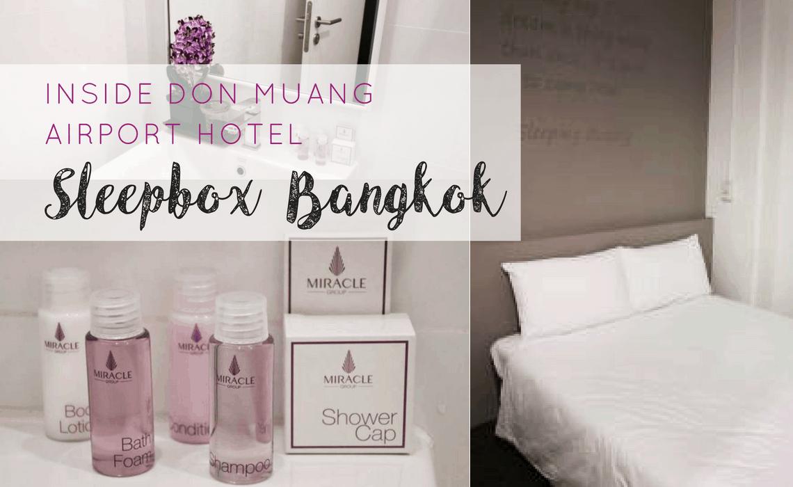 Inside Bangkok Don Muang Sleepbox Airport Hotel