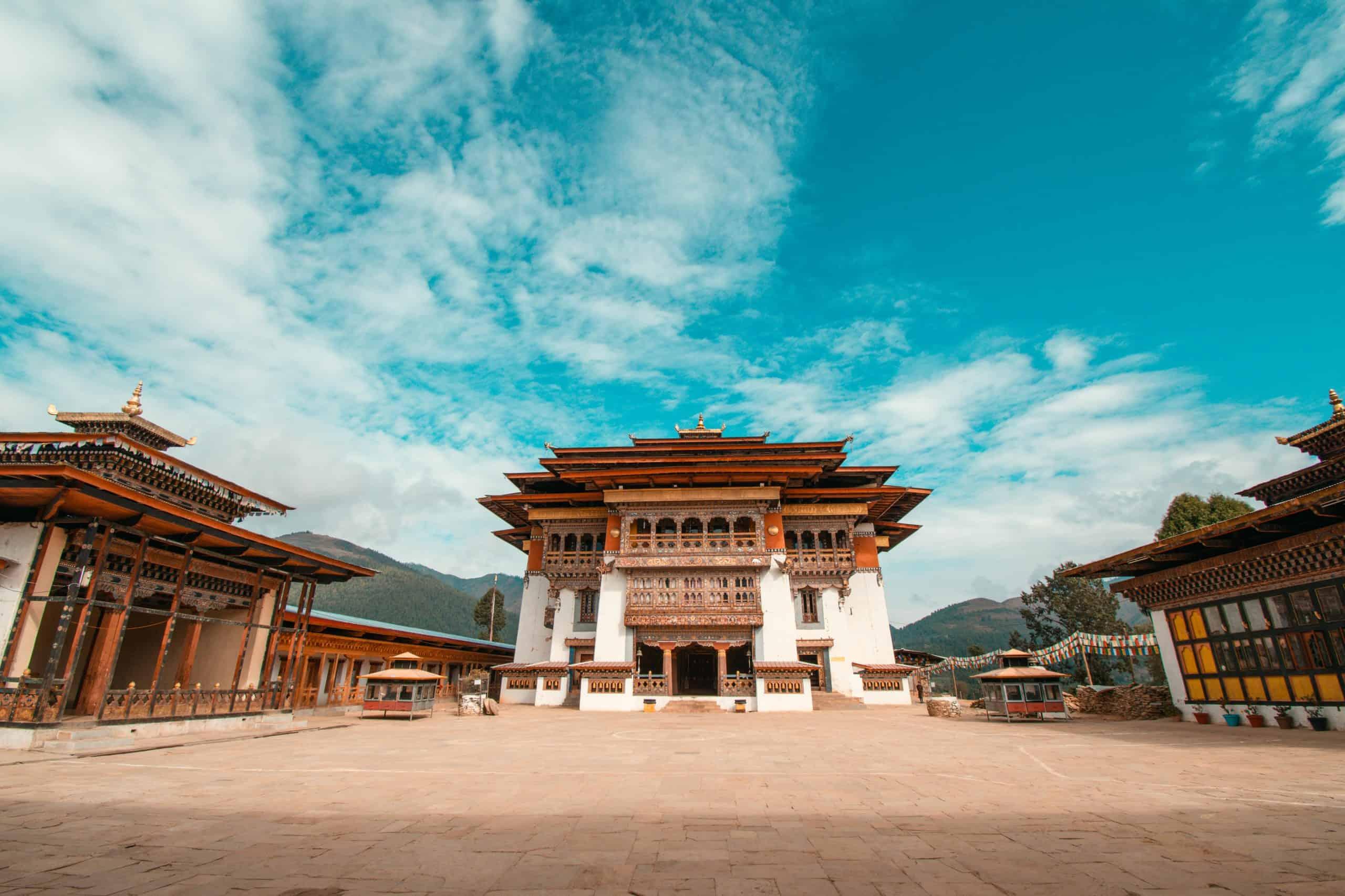 Dzong in Bhutan