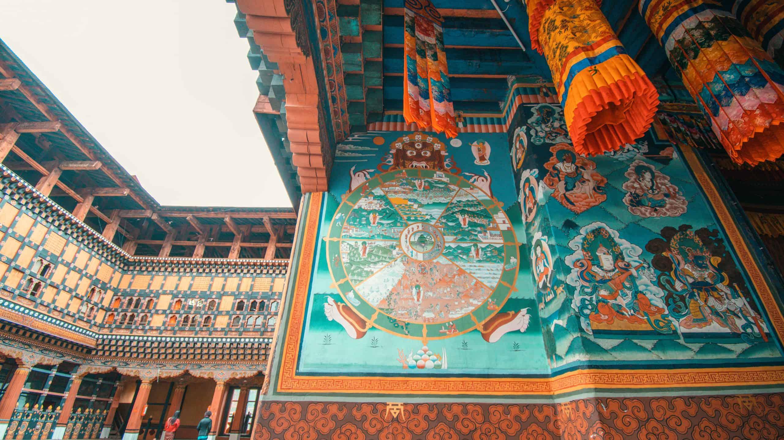 Buddhist Art in Bhutan