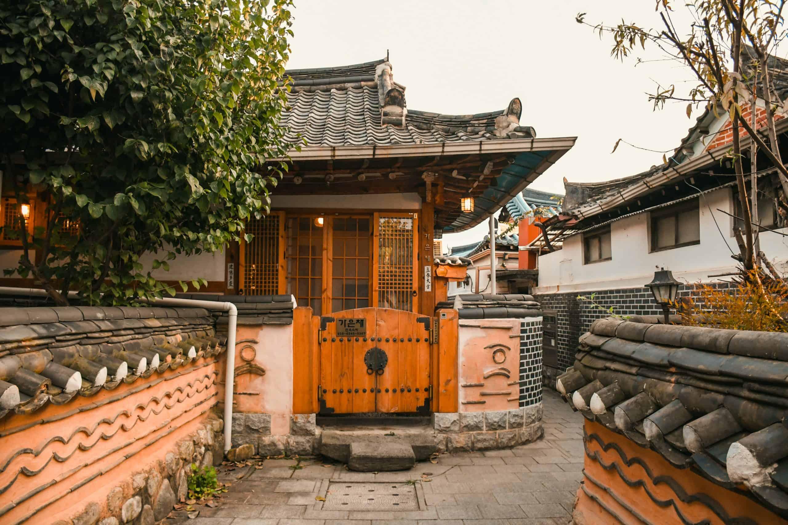 Hanok house in Jeonju