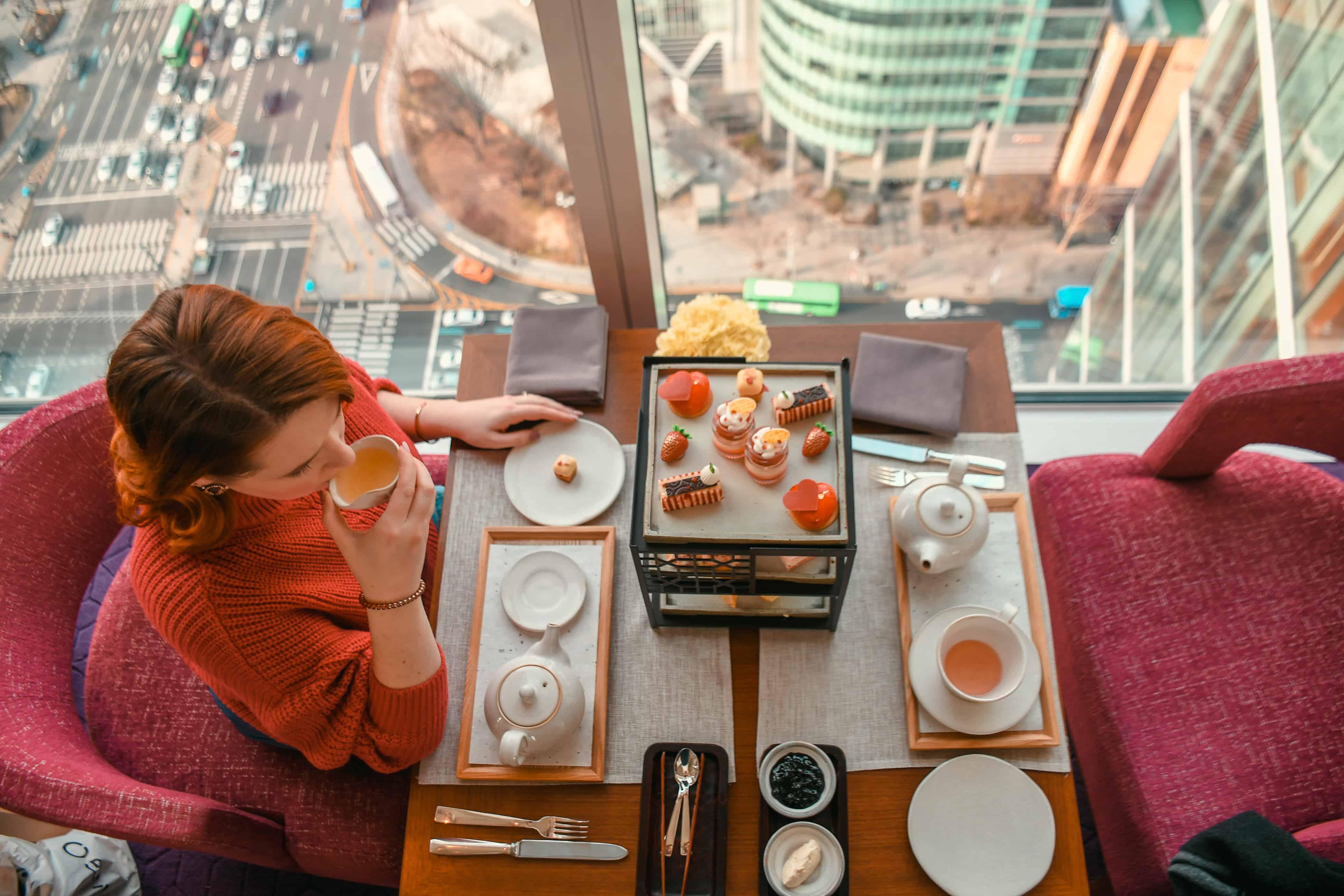 Strawberry Afternoon Tea in Seoul At Park Hyatt Seoul