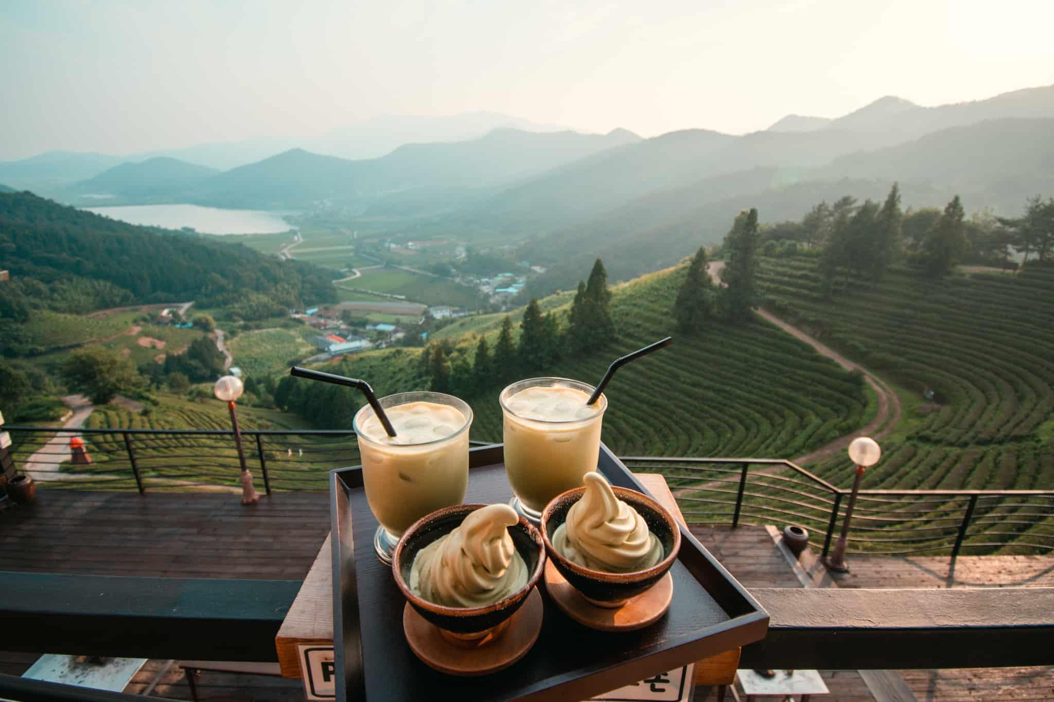 Nokcha Cafe Boseong