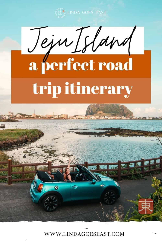 Jeju Island Roadtrip Itinerary