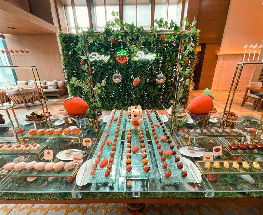 Strawberry Dessert Buffet