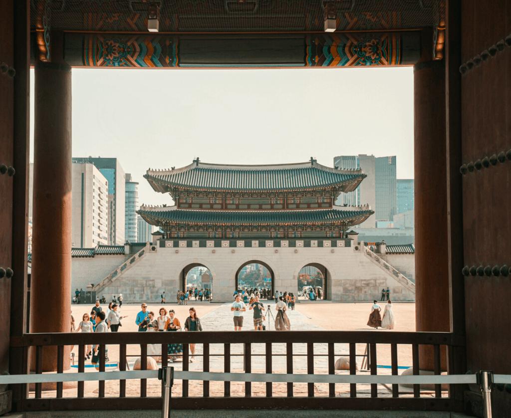 Visiting Gyeongbokgung Palace In Seoul