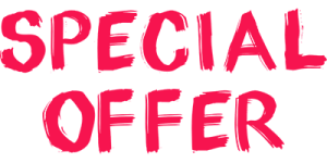 Special offer for spring