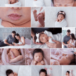11 Day Old Miss P Home Newborn Session Lifestyle Inspired