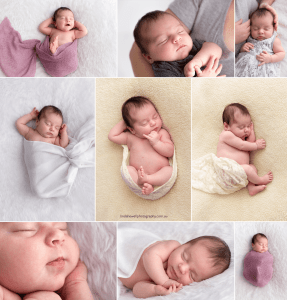 Perth Newborn Photos 23 Day Old Baby Girl