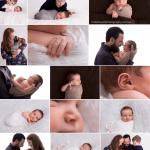 Studio Newborns: 9 Day Old Mister A