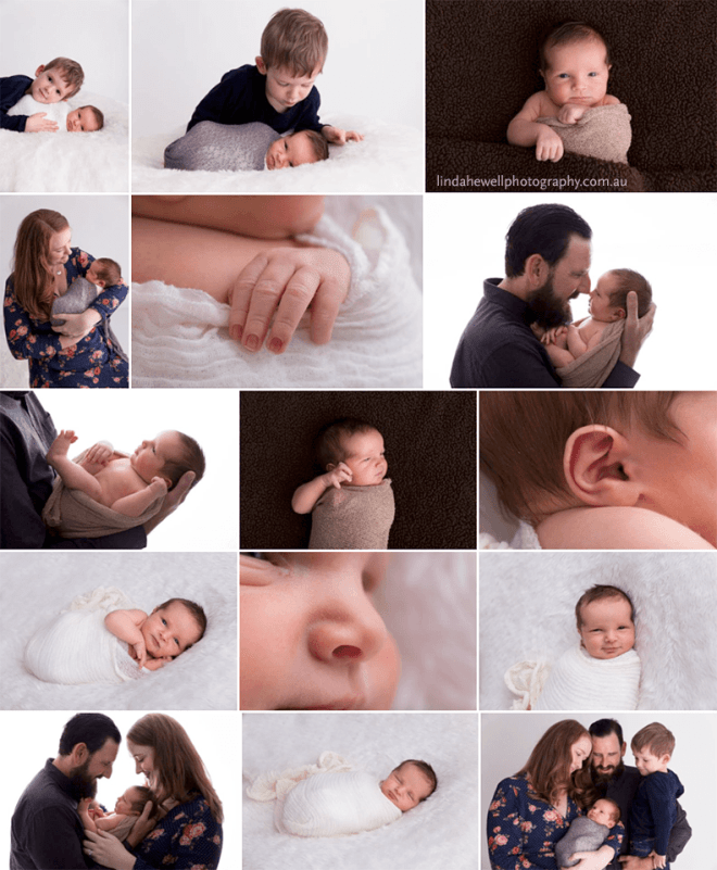 Studio Newborns Perth Photography