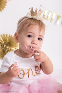 Cake smash studio photography Perth 008