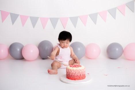 Cake smash 1st birthday photo session 013