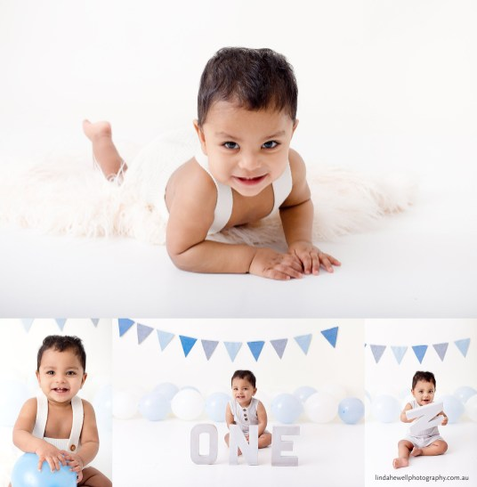 1st year birthday photo shoot Perth