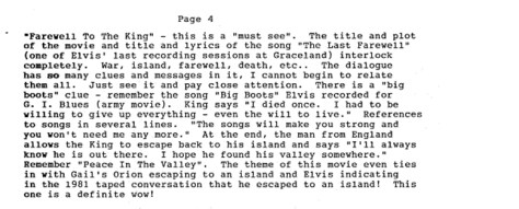 Farewell To the King My Movie Report