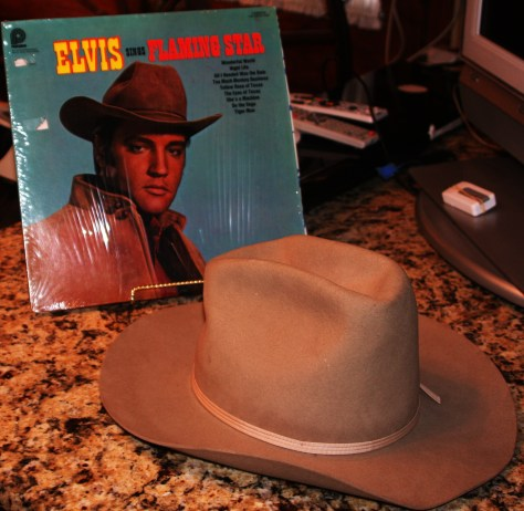 Elvis Jesse's Hat From Flaming Star - gift from Mr. Siegel.