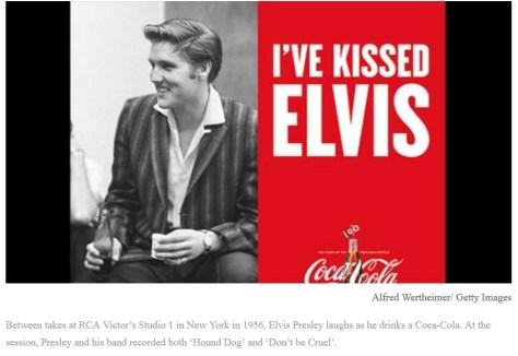 Elvis and Coca Cola 2015