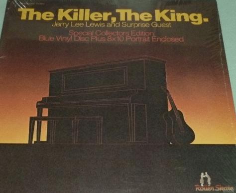 Jerry Lee Lewis The Killer King LP Blue Vinyl RARE Orion Elvis Impersonator eBay
