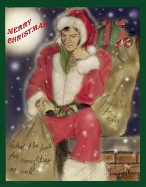 Zey Elvis Santa santahim