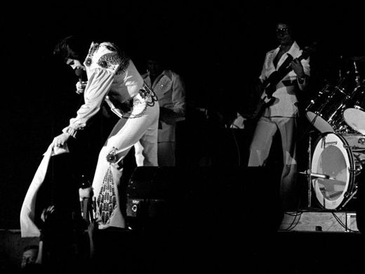 Elvis' last concert in Memphis July 5, 1976