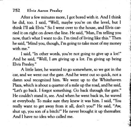 Alanna Nash Memphis Mafia book Billy Smith continued