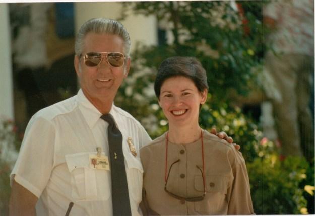 Linda with Harold Loyd