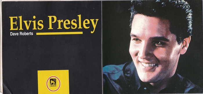 Elvis Orion Book inside double page