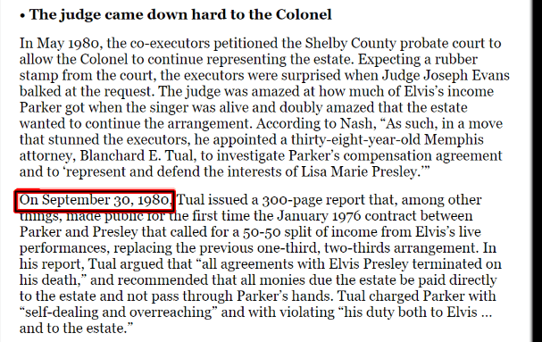 Col Parker and Elvis' contract ended 1980.png
