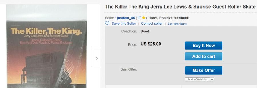 The Killer, The King