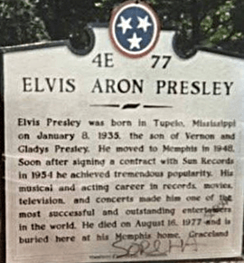 Plaque with Aron spelling.