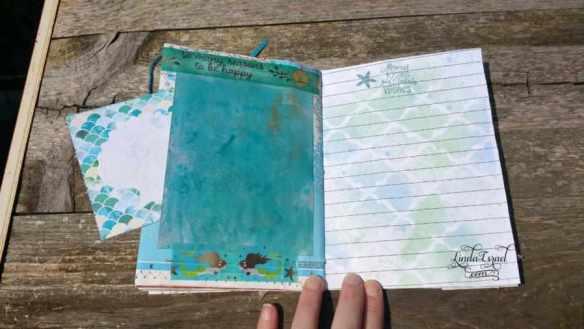 A Mermaid Tale Junk Journal