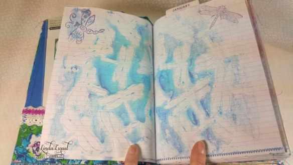 Dragonfly Bullet Planner Junk Journal