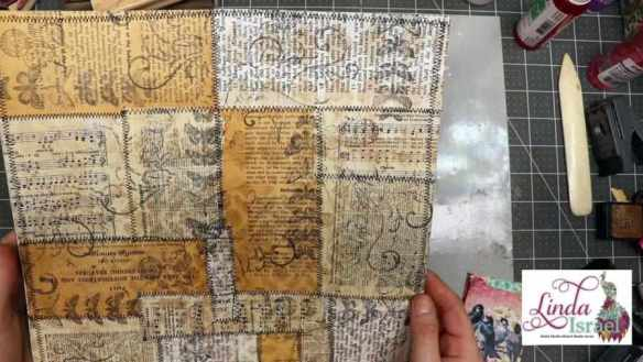 Collaged Journal Cards Tutorial