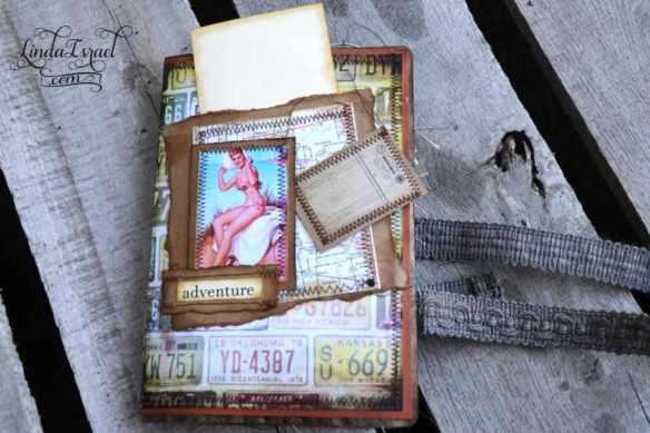 Pin Ups on Rt 66 Junk Journals