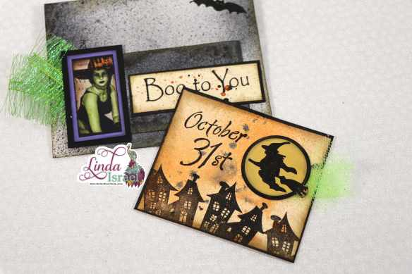 Boo to You Halloween Altered Envelope Tutorial