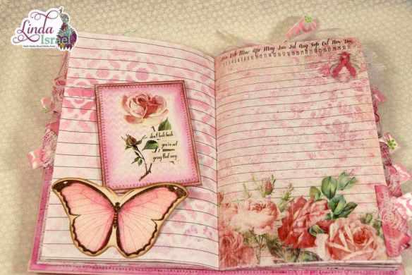 Think Pink Junk Journal