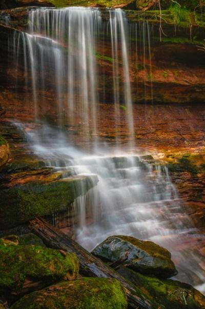 Houghton Falls, fall 1