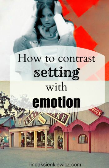 setting + emotion in fiction