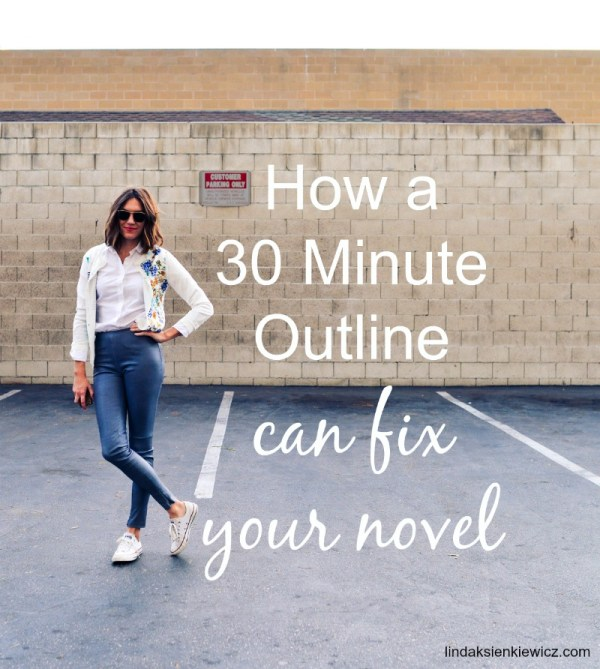 30 minutes can fix your novel