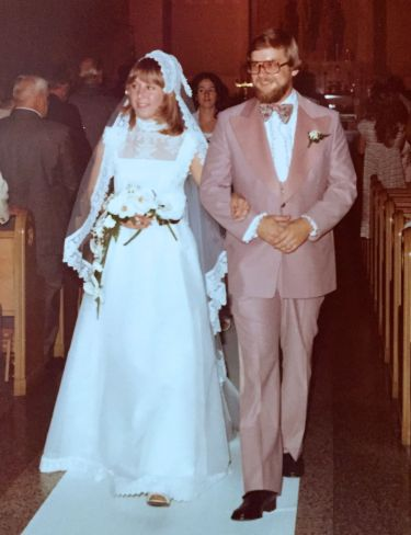 A forty-year marriage started in 1976