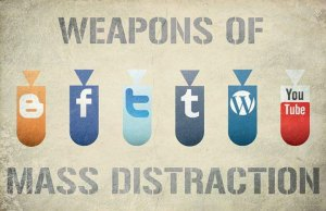 Writing the second book – distractions
