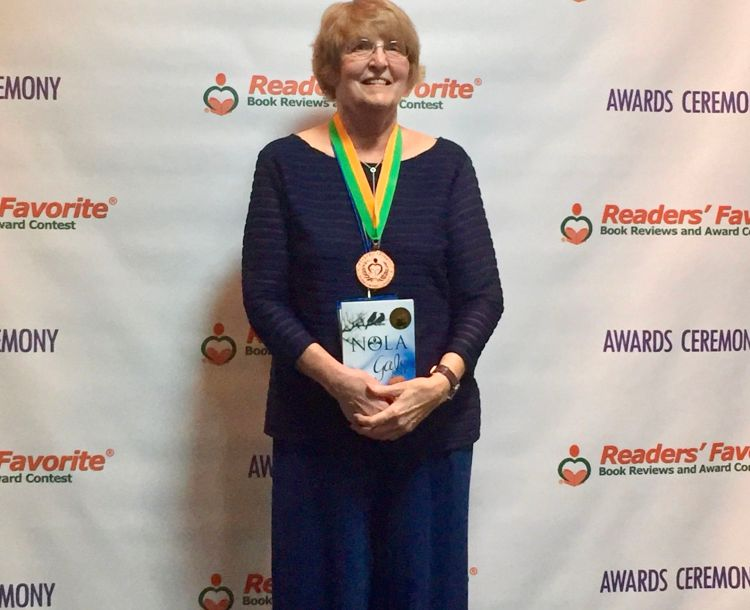 Author Barbara Rebbeck