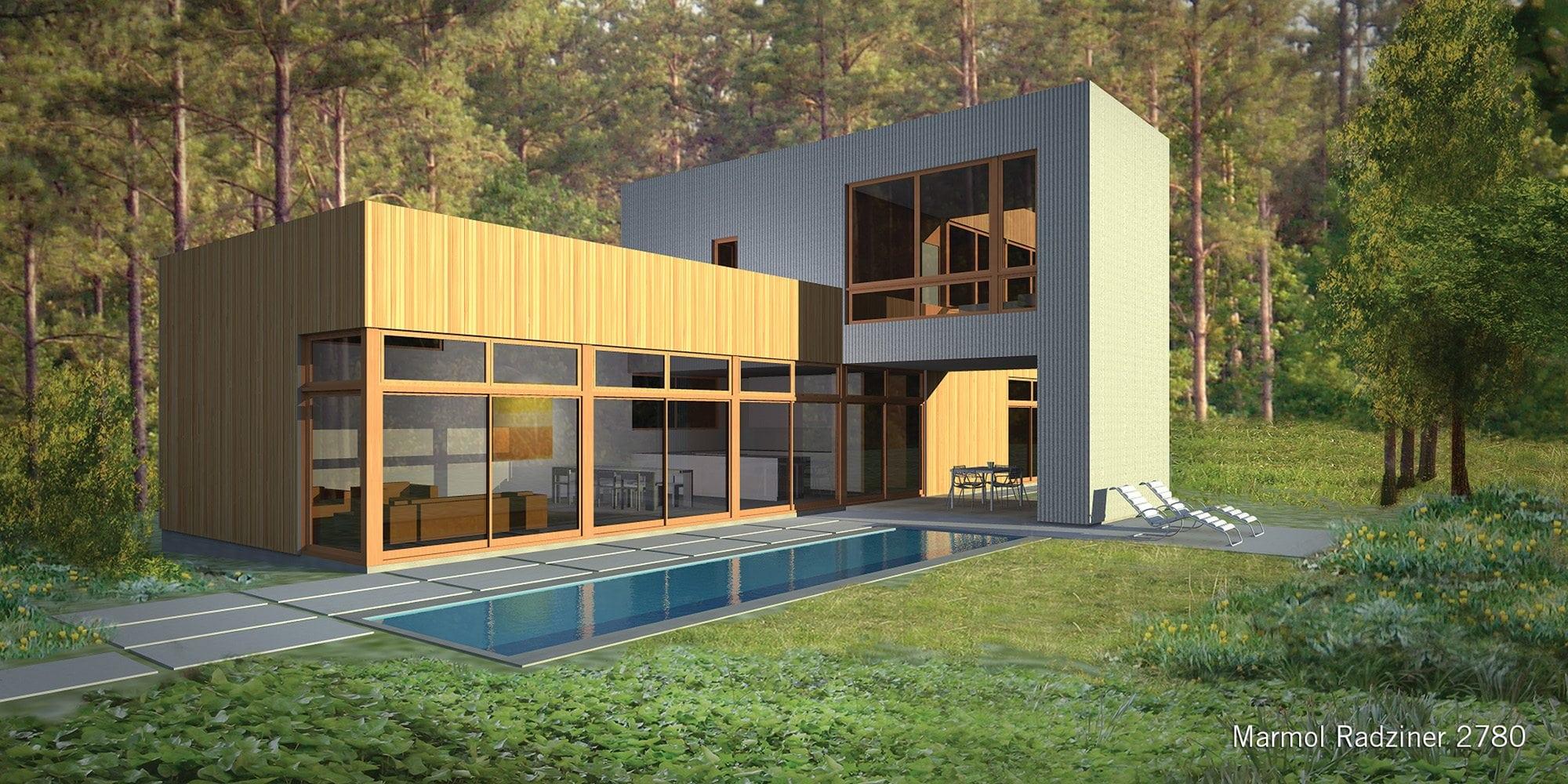 Best Kitchen Gallery: Marmol Radziner 2780 Home Design Lindal Architects Collaborative of Marmol Radziner Homes on rachelxblog.com