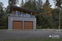 Lindal Cedar Modern Studio Home Plans