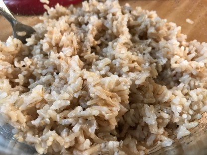 quick cooking brown rice