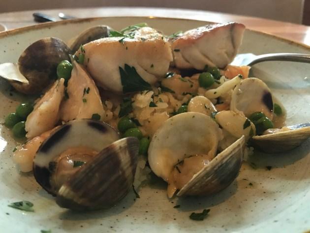 Grouper, Shrimp, Clams, In A Vasca Sauce