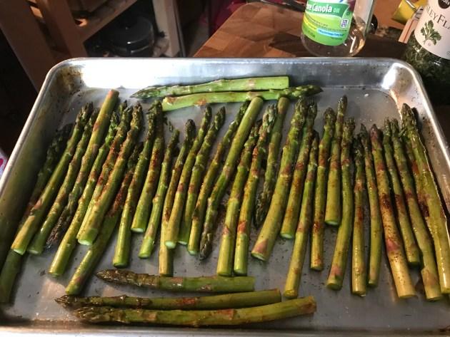 Mocha Chili Spiced Roasted Asparagus (2)